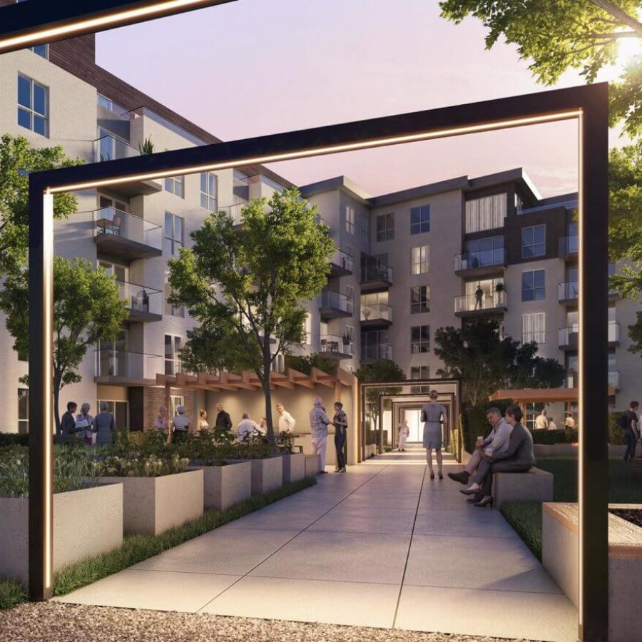 Extérieur du projet Cloria Vallée du Richelieu